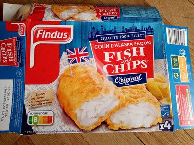 Colin d'Alaska Fish & Chips Original - Produit