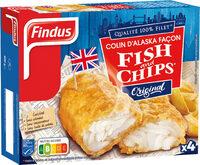 Colin d'Alaska MSC façon Fish & Chips - Product - fr
