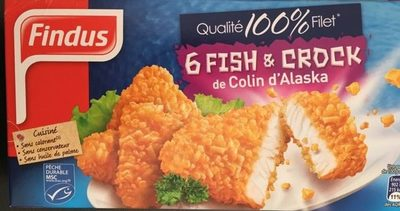 6 Fish & Crock De Colin D'alaska - Product