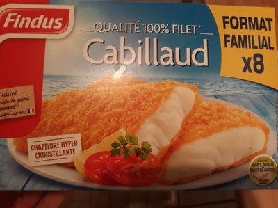 Qualité 100% Filet de Cabillaud x8 - Product