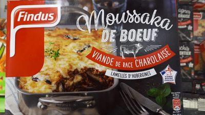 Moussaka de Boeuf - Produit - fr