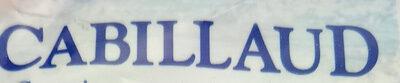 Filets de Cabillaud MSC - Ingrédients