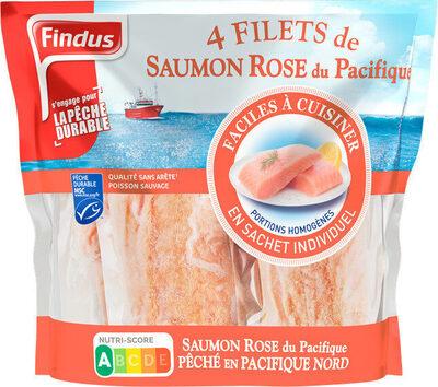 Filets de Saumon Rose du Pacifique MSC - Produit - fr