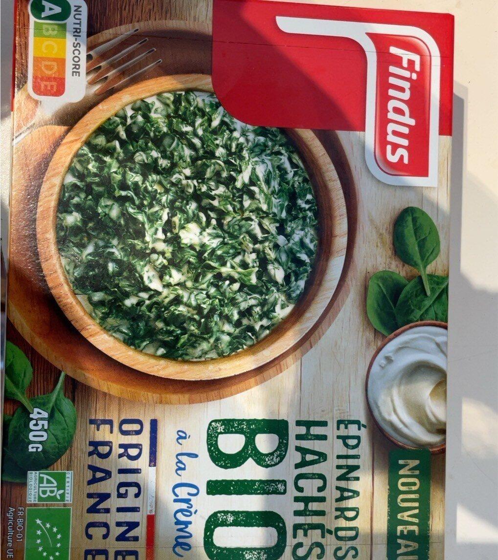 Epinards haches bio - Produit - fr
