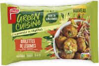 Boulettes de Légumes - Produit - fr