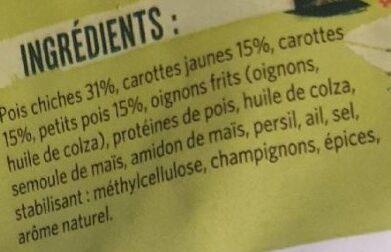 Boulettes de Légumes - Ingrédients - fr