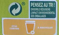 Bâtonnets croustillants Épinards - Istruzioni per il riciclaggio e/o informazioni sull'imballaggio - fr