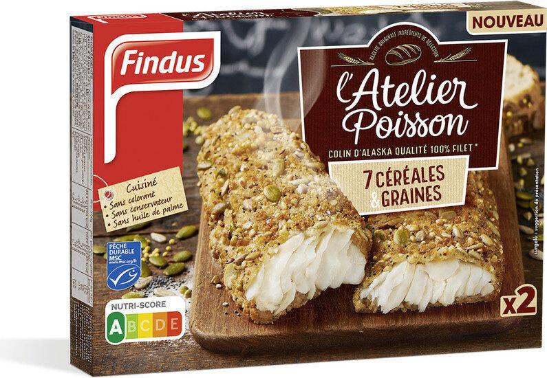 Colin d'Alaska 7 Céréales & Graines MSC - Produit - fr