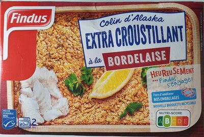 Colin d'Alaska Extra Croustillant à la Bordelaise - Product - fr