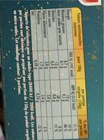Ecrasé de pommes de terre - Informations nutritionnelles - fr
