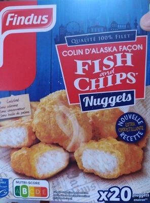 Nuggets fish ans chips colin - Produit - fr