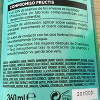 Garnier Fructis Aloe Hydra Bomb Champions - Ingredienti - en