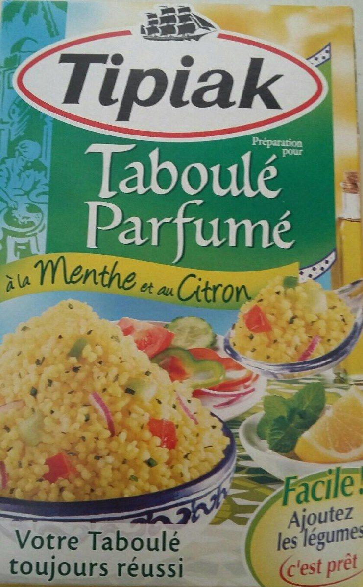 Taboule parfumé menthe citron - Produit