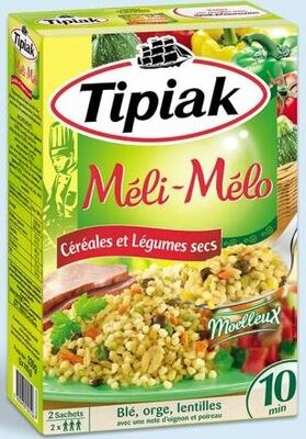 Méli-Mélo Céréales et Légumes secs - Produit - fr