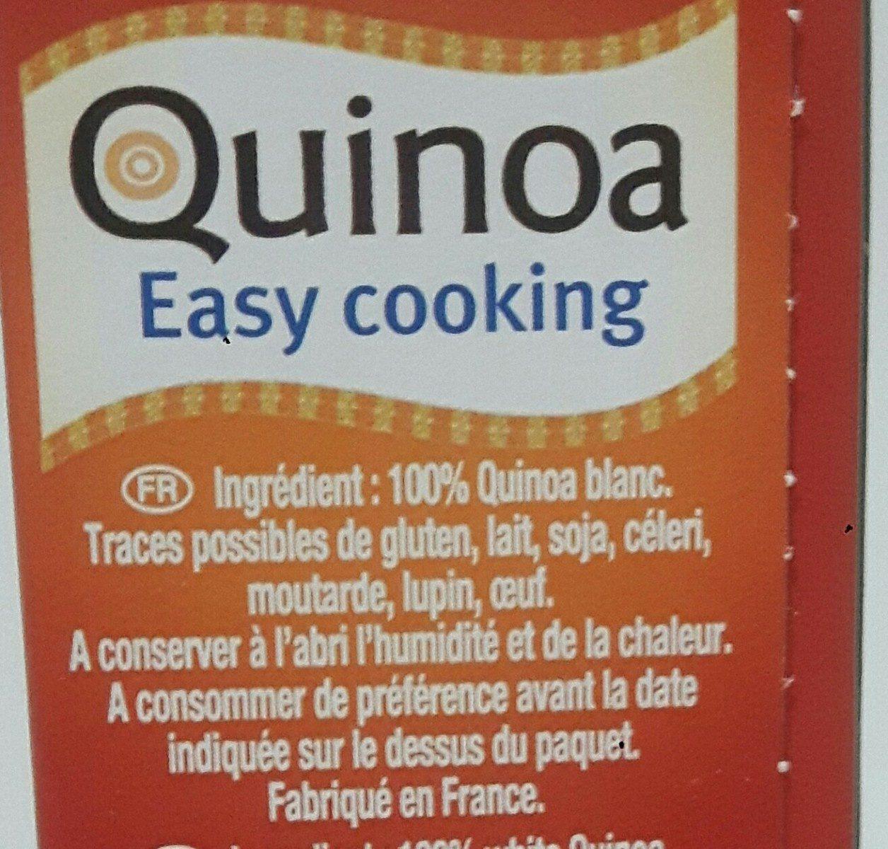 Quinoa Easy cooking - Ingrediënten