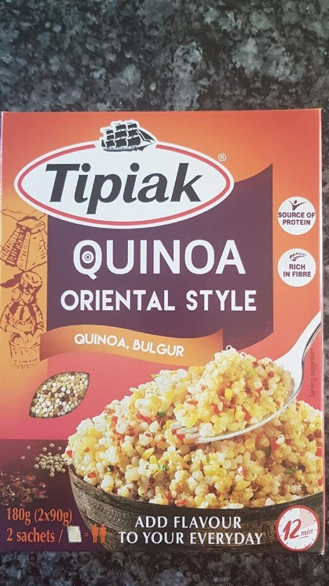 Quinoa oriental style - Produit