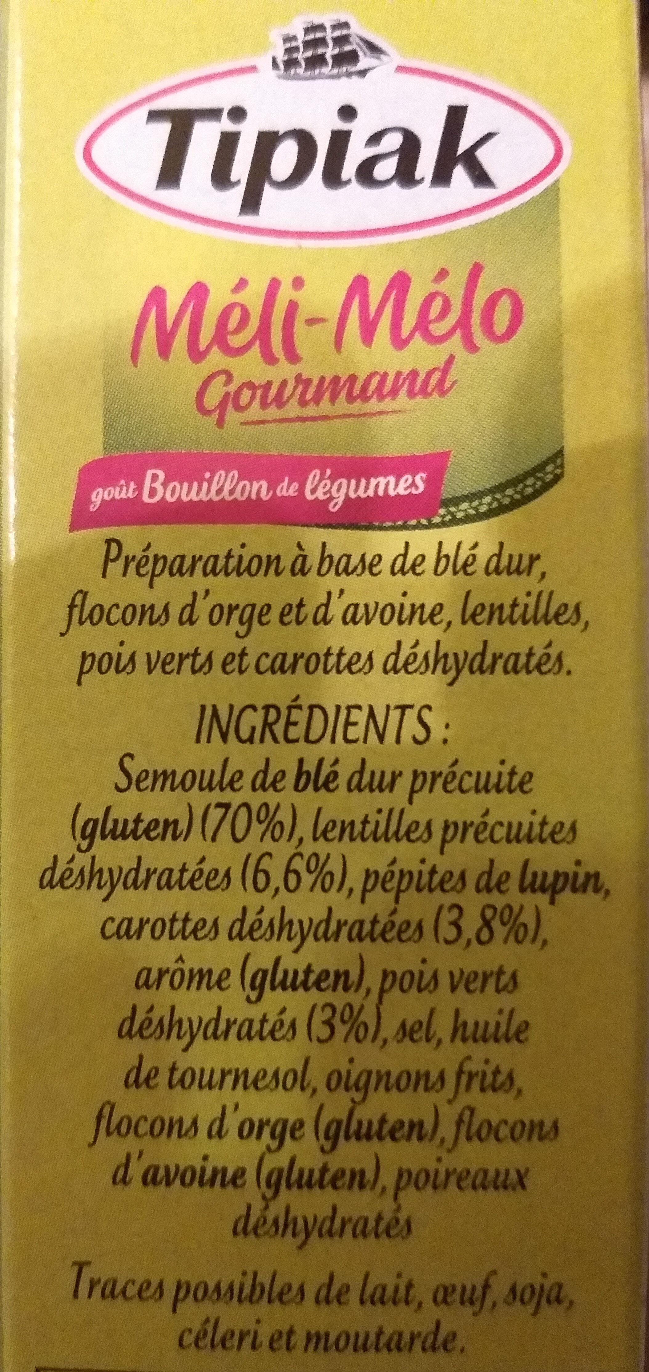Meli mélo gourmand - Ingrédients - fr