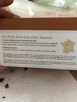 Les petits fours à la cerise Amarena - Ingrédients