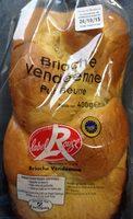 Brioche Vendéenne - Ingredients