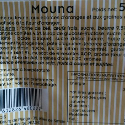 Mouna - Product - fr