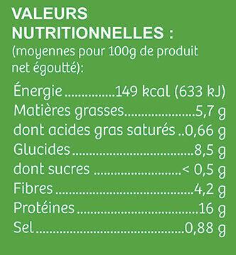 Sauté Végétal Bio - Nutrition facts - fr