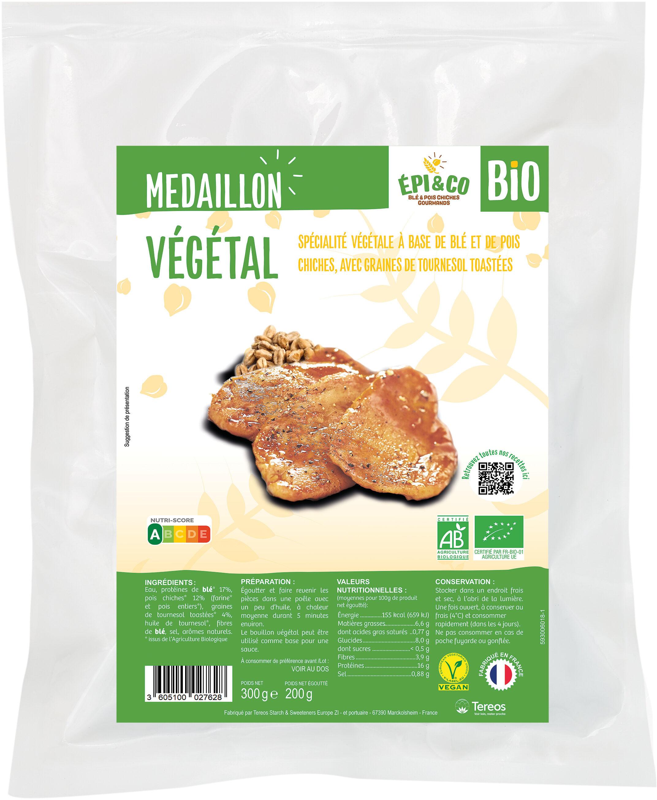 Médaillon Végétal Bio - Product - fr