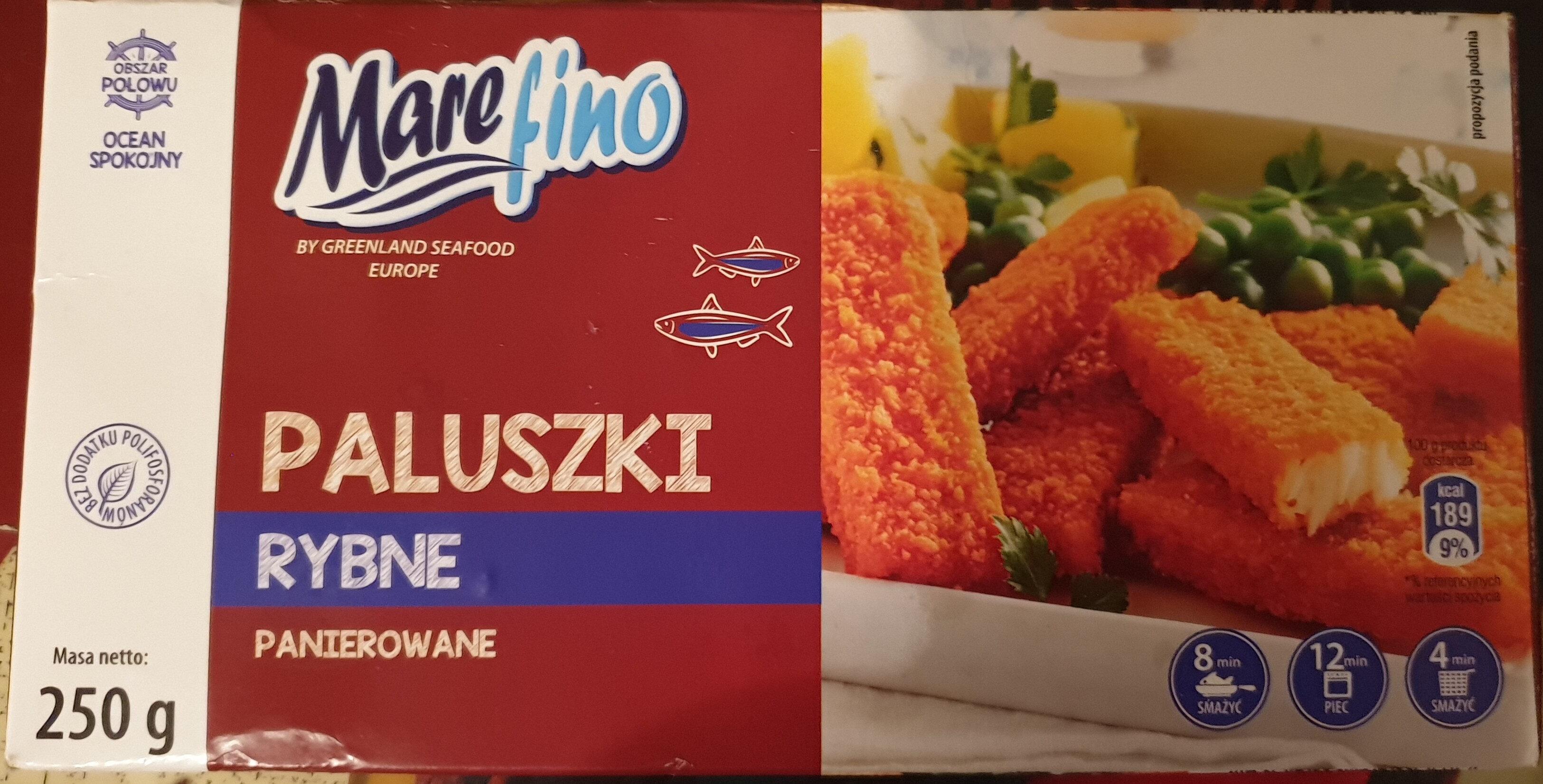 Paluszki rybne panierowane - Product - pl