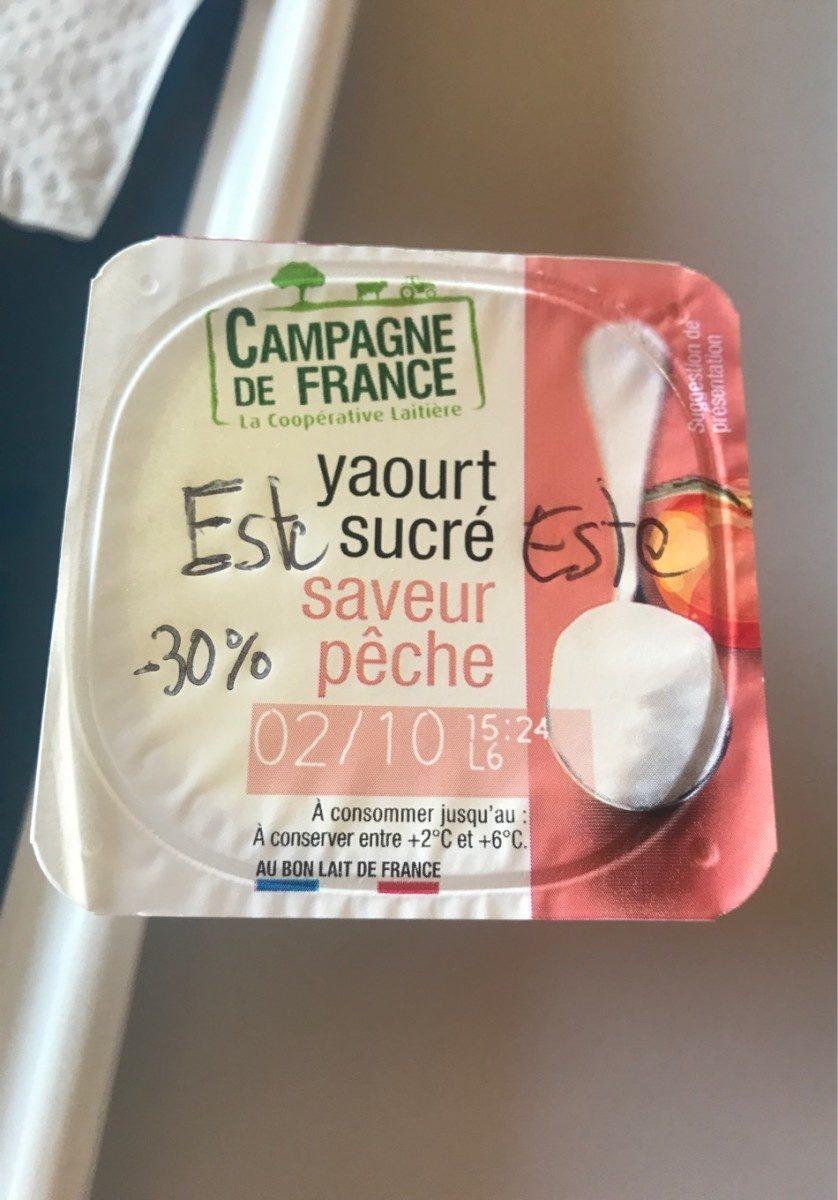 Yaourt sucré - Produit - fr