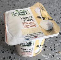 Yaourt sucré - Informations nutritionnelles - fr