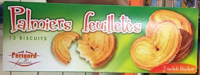 Palmiers feuilletés - Produit - fr