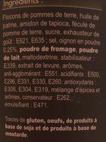 Crème & Oignons - Ingrédients - fr