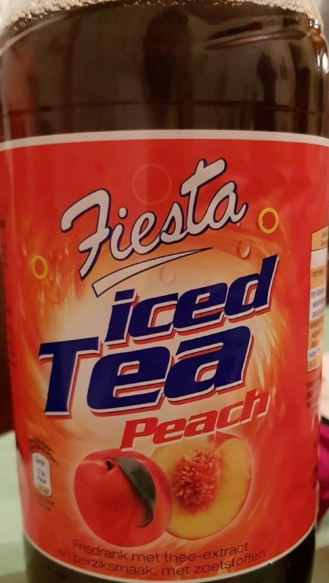Iced tea peach - Product - fr