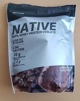 Native 100% whey protein isolate Decathlon - Produit