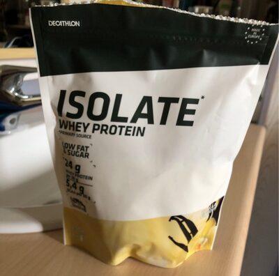 Isolate whey protein vanilla - Produit - fr