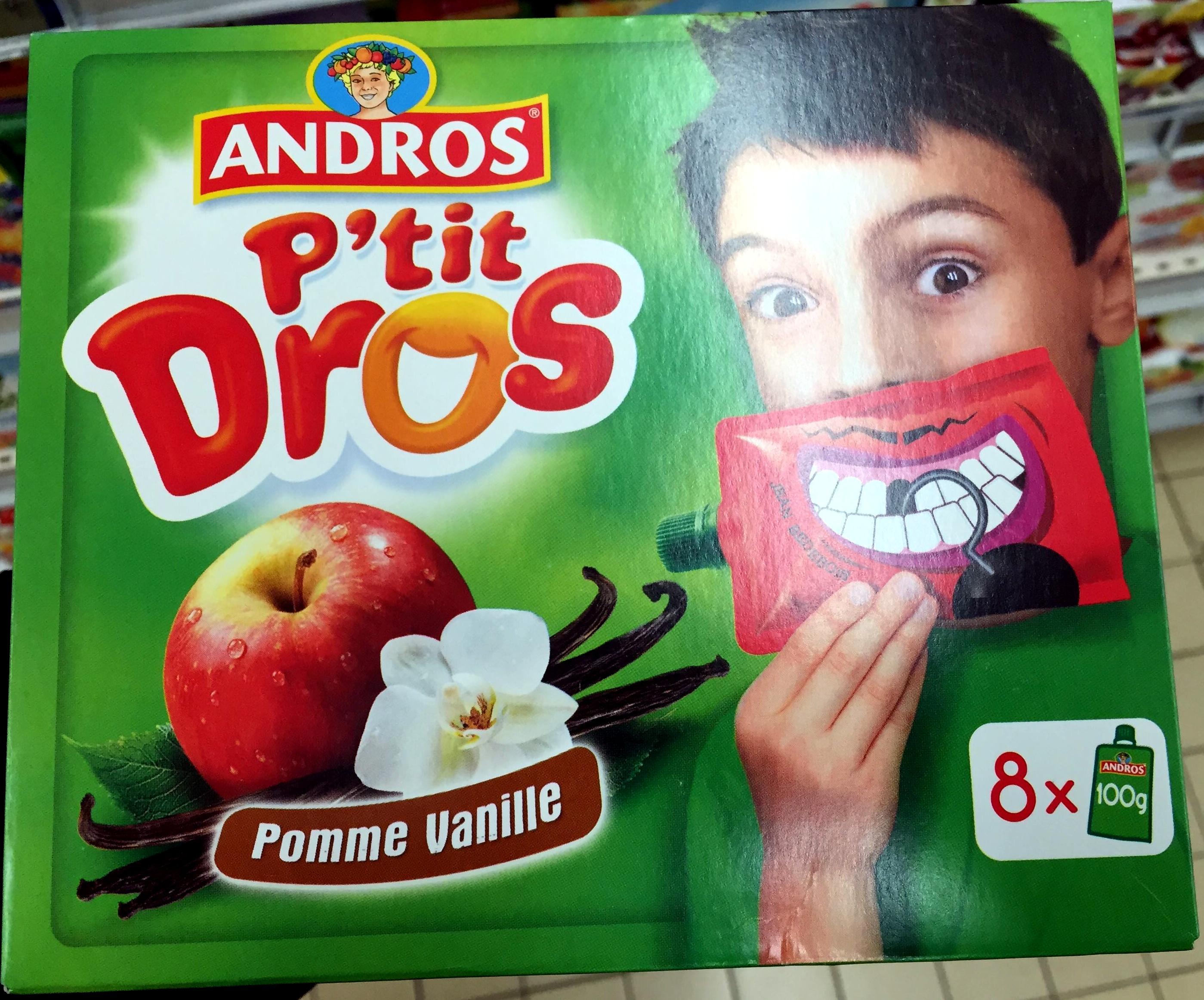 P'tit Dros Pomme Vanille - Produit