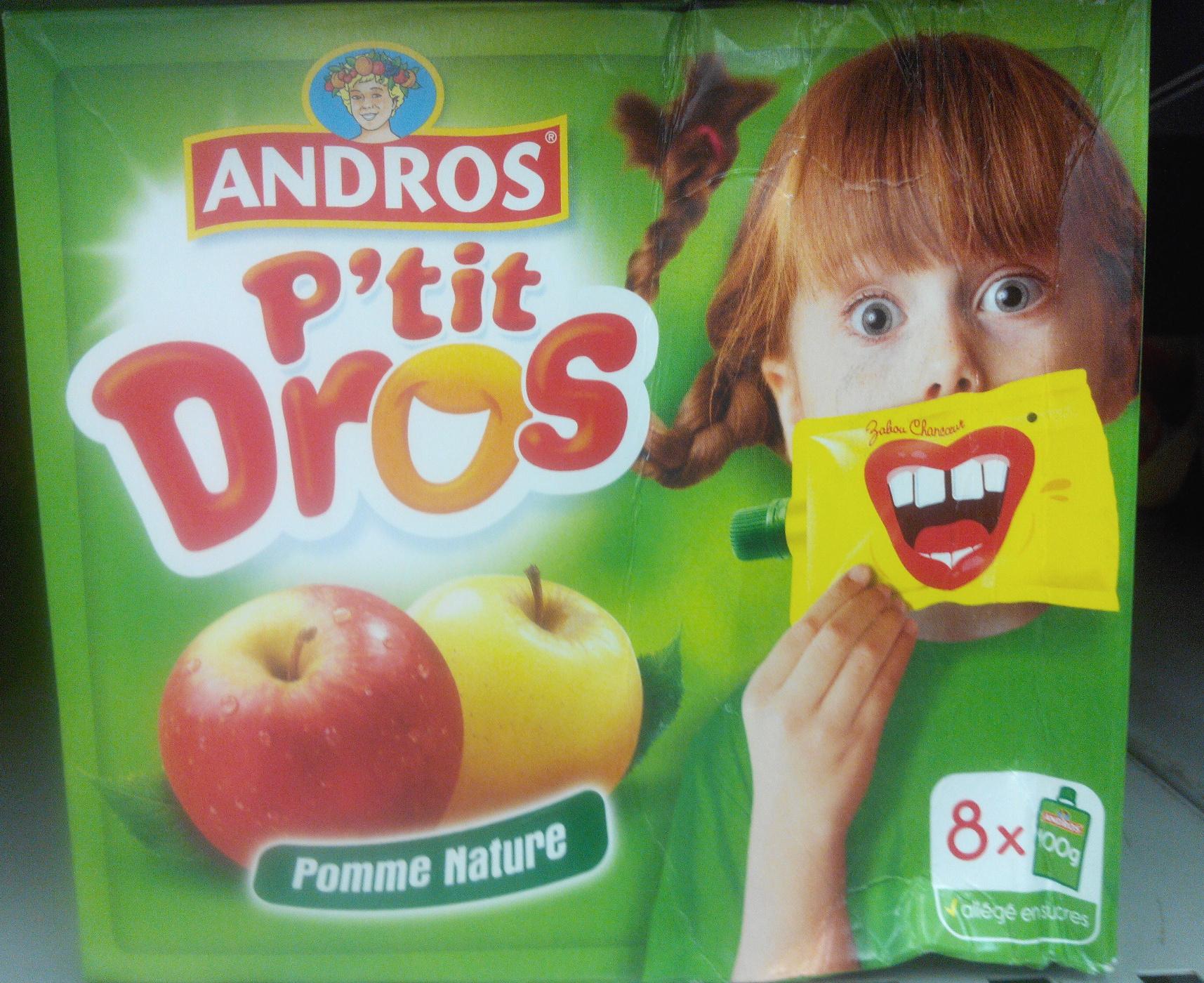 P'tit Dros Pomme Nature - Produit