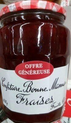 confiture fraises - Prodotto - fr