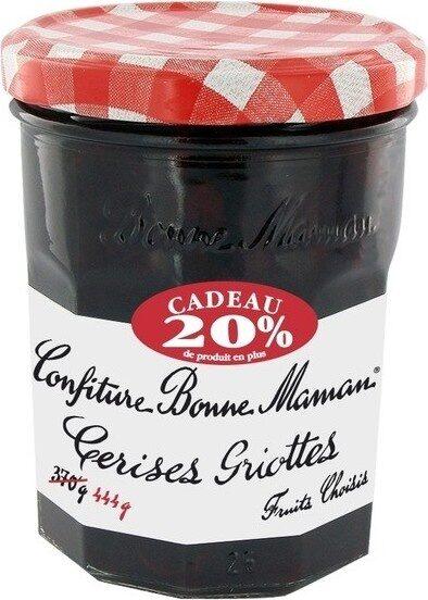Confiture cerises griottes 370g+20%gr - Prodotto - fr