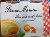 Flan aux œufs frais au caramel - Product