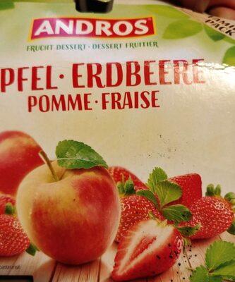 Dessert fruitier pomme fraise - Product - fr