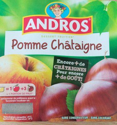 Dessert fruitier Pomme Châtaigne - Produit