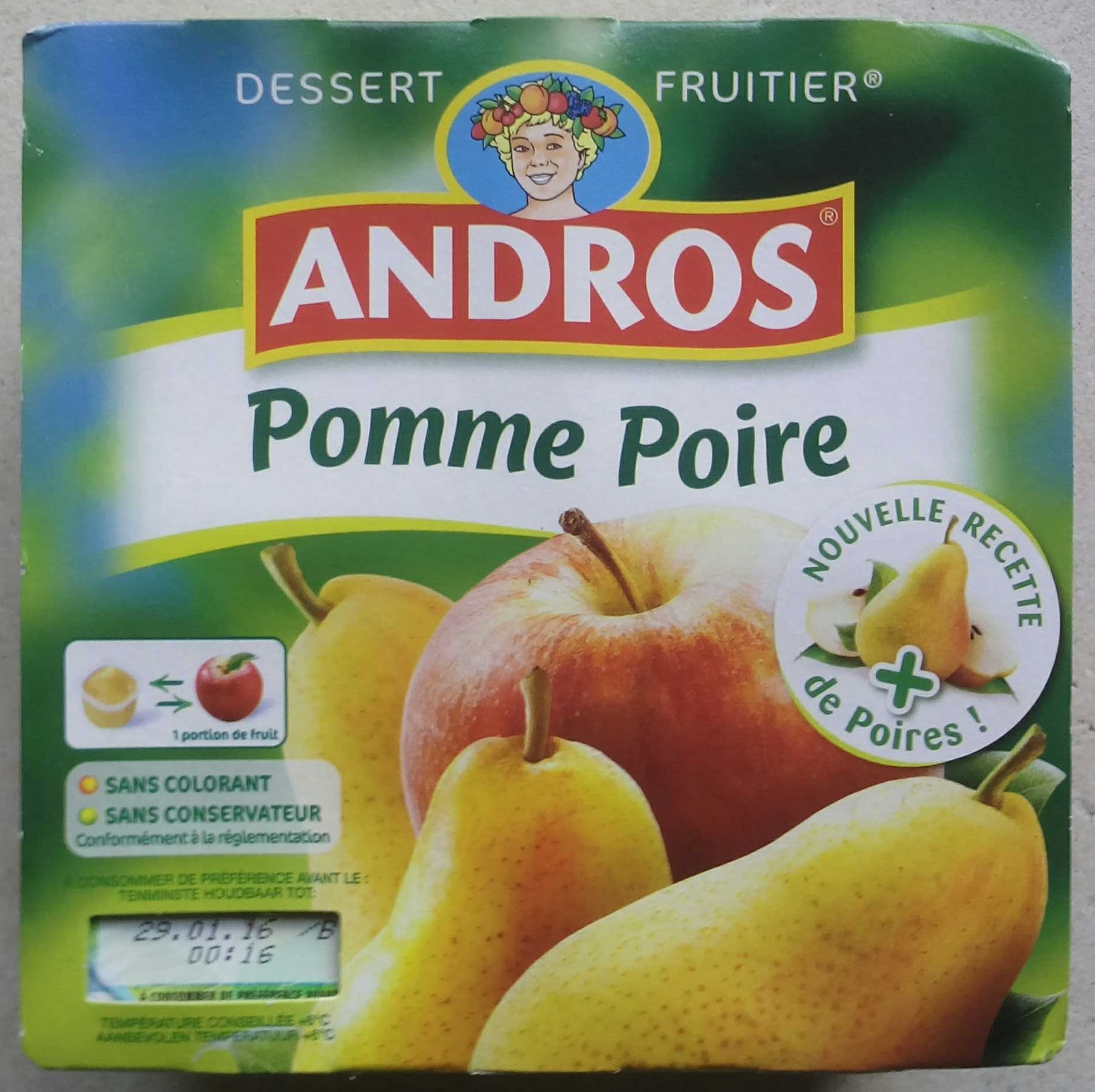 Pomme Poire - Produit