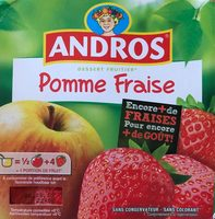 Compote - Pomme Fraise - Product