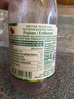 Nectar Fraises - Ingrédients - fr