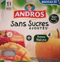 Pomme Mangue Sans Sucres Ajoutés - Product - fr