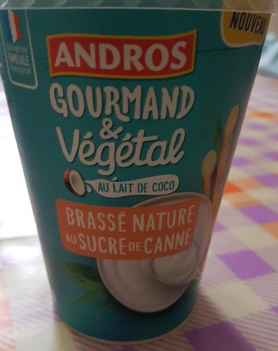 Gourmand Végétal Brassé nature au sucre de canne - Product