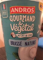 Gourmand & vegetal Brassé Nature - Product