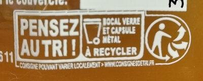 confiture ananas et passion - Instruction de recyclage et/ou informations d'emballage - fr