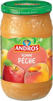 Compote Pomme Pêche - Produit - fr