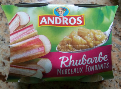 Délice de rhubarbe - Produit - fr